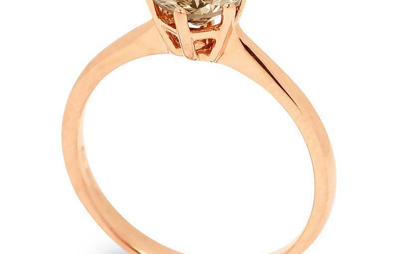 rózsaarany karikagyűrű